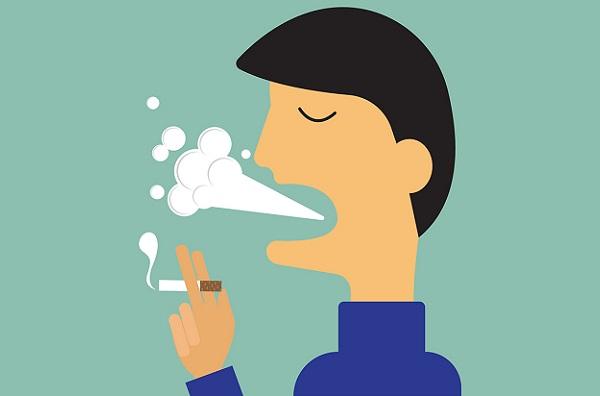 мужское курение